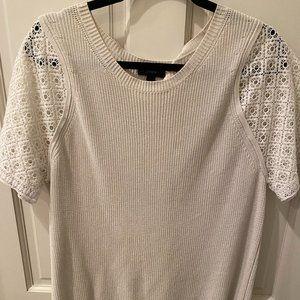 Loft Short Sleeve Sweater/Shirt